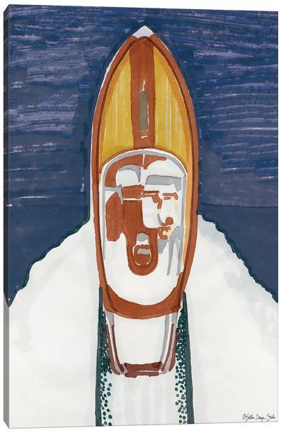 Water Ski Show II Canvas Art Print