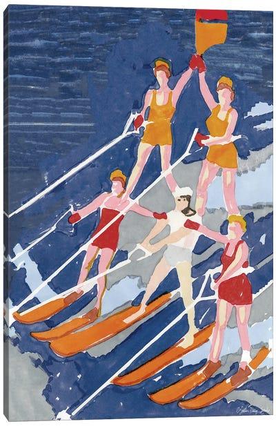 Water Ski Show III Canvas Art Print