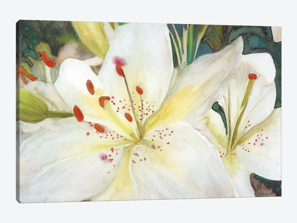 Macro Lilies by Stellar Design Studio 1-piece Canvas Wall Art
