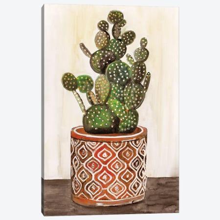 Potted Cactus I Canvas Print #SLD224} by Stellar Design Studio Canvas Art Print