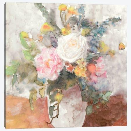 Table Bouquet II Canvas Print #SLD227} by Stellar Design Studio Art Print