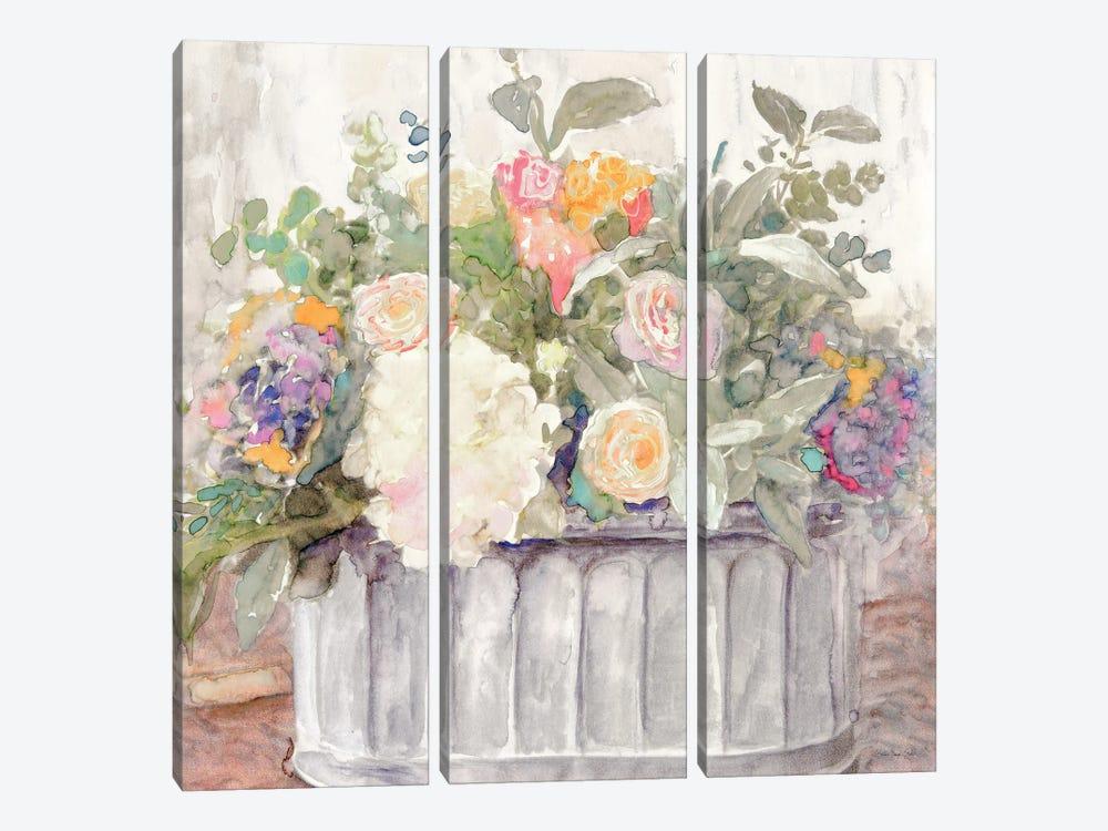 Table Bouquet I by Stellar Design Studio 3-piece Canvas Artwork