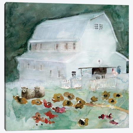 The Old Homestead Canvas Print #SLD229} by Stellar Design Studio Canvas Artwork