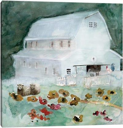 The Old Homestead Canvas Art Print