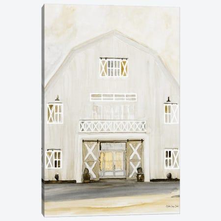 Wedding Barn Canvas Print #SLD230} by Stellar Design Studio Art Print