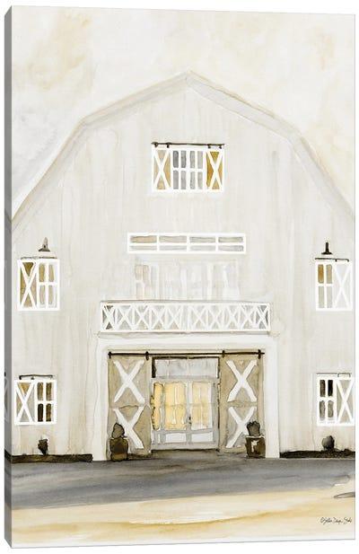 Wedding Barn Canvas Art Print