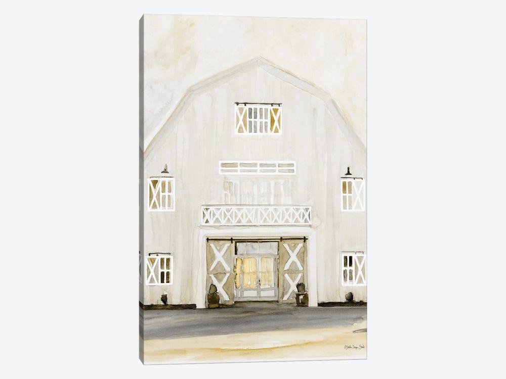 Wedding Barn by Stellar Design Studio 1-piece Art Print