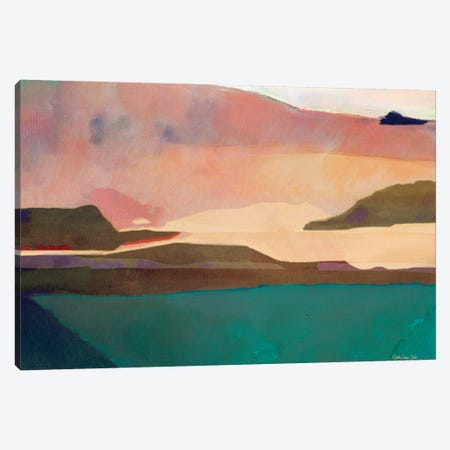 Sunset Sands II Canvas Print #SLD232} by Stellar Design Studio Canvas Art Print