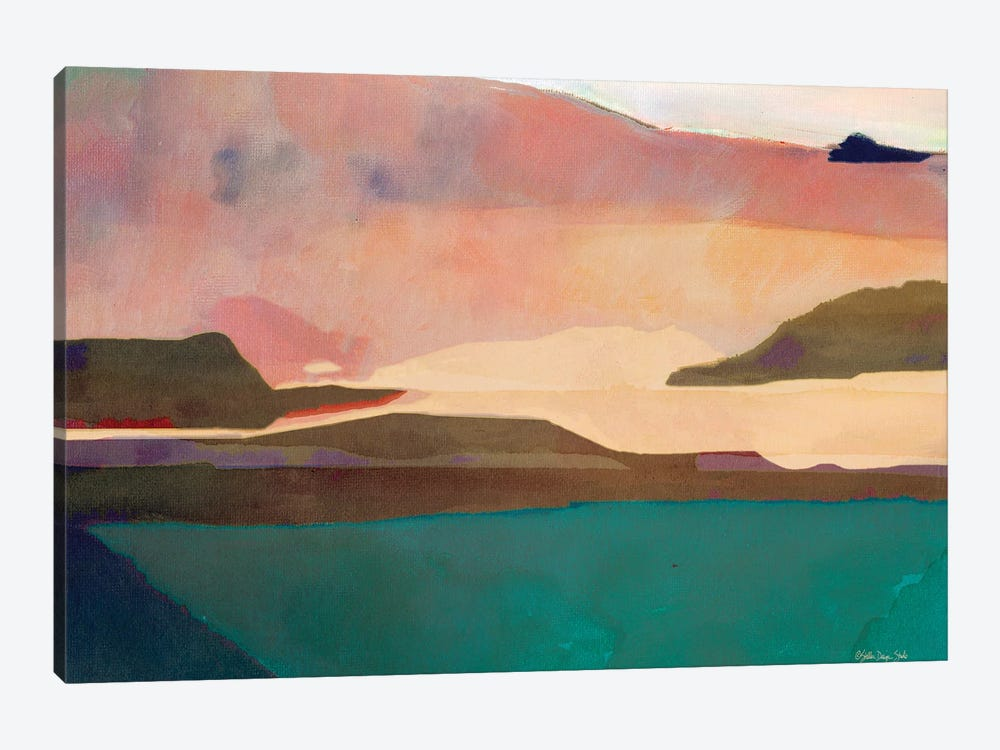 Sunset Sands II by Stellar Design Studio 1-piece Art Print