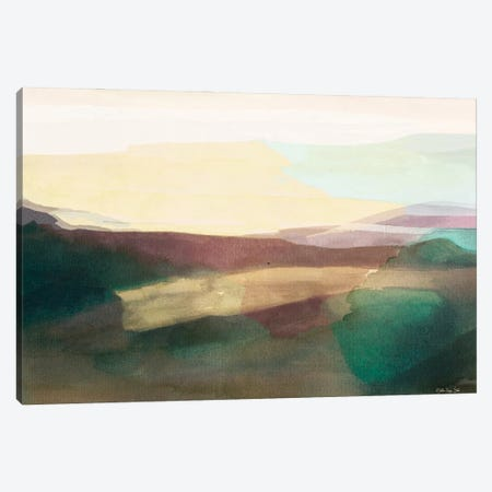 Sunset Sands III Canvas Print #SLD233} by Stellar Design Studio Art Print