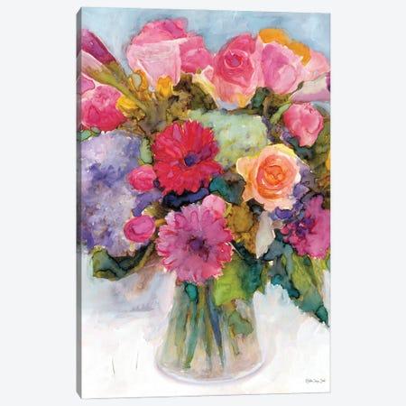 Dramatic Blooms I Canvas Print #SLD241} by Stellar Design Studio Canvas Artwork