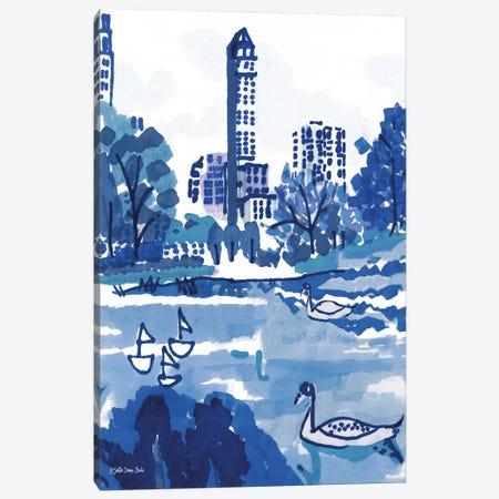 City Pond Canvas Print #SLD251} by Stellar Design Studio Canvas Art Print