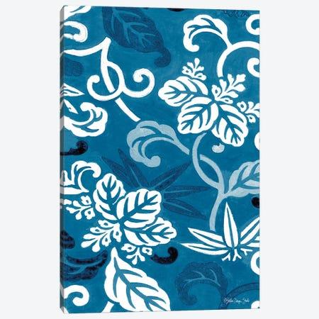 Cobalt Pattern I Canvas Print #SLD252} by Stellar Design Studio Canvas Print