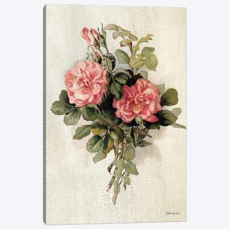 Pink Roses Canvas Print #SLD278} by Stellar Design Studio Canvas Art Print
