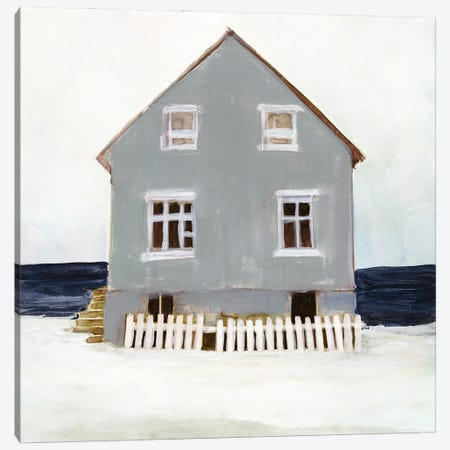 Beach Hut II Canvas Print #SLD285} by Stellar Design Studio Art Print