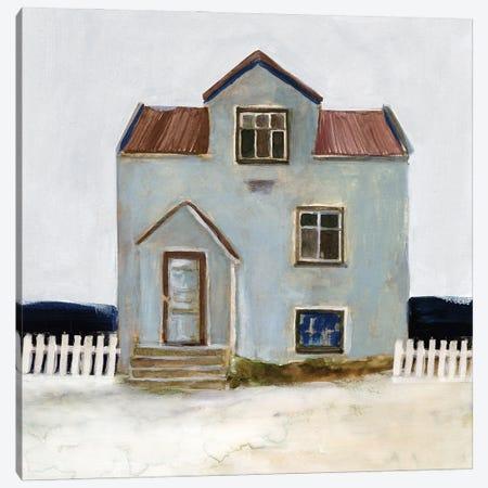 Beach Hut III Canvas Print #SLD286} by Stellar Design Studio Art Print