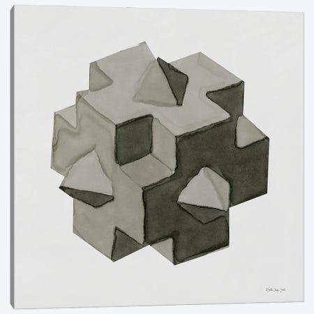 Geo V Canvas Print #SLD303} by Stellar Design Studio Canvas Art Print