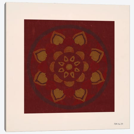 Mandala Spice II Canvas Print #SLD314} by Stellar Design Studio Canvas Art Print