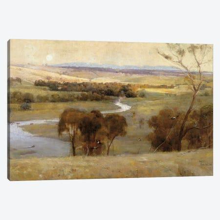Countryside Morning Canvas Print #SLD331} by Stellar Design Studio Canvas Wall Art