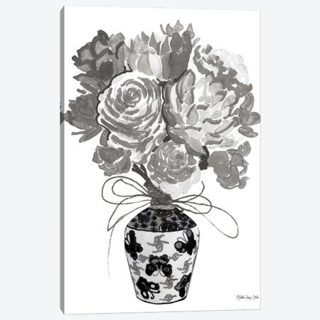 Gray Bouquet Canvas Print #SLD339} by Stellar Design Studio Canvas Art