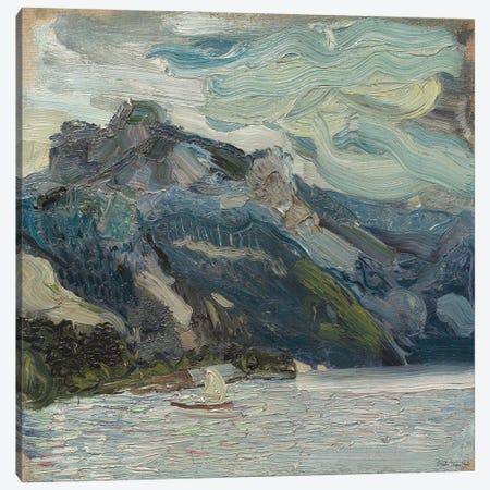 Mountain Blues Canvas Print #SLD353} by Stellar Design Studio Canvas Art