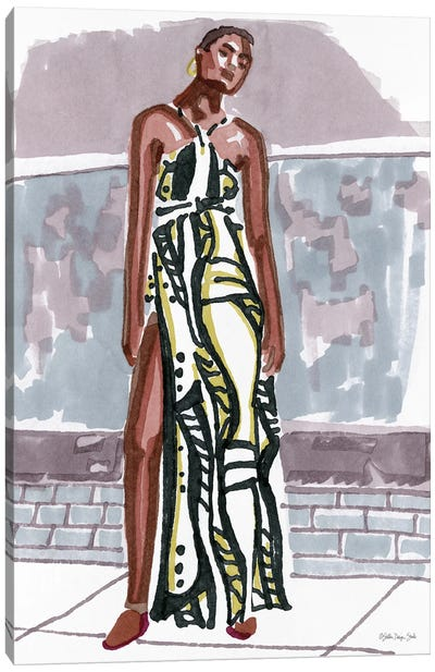 Fashion In The City I Canvas Art Print