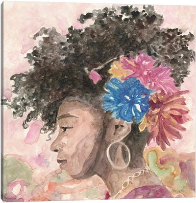 Floral Crown II Canvas Art Print