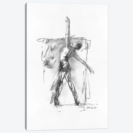 Dance Figure II Canvas Print #SLD48} by Stellar Design Studio Canvas Art Print