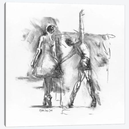 Dance Figure III Canvas Print #SLD49} by Stellar Design Studio Canvas Print