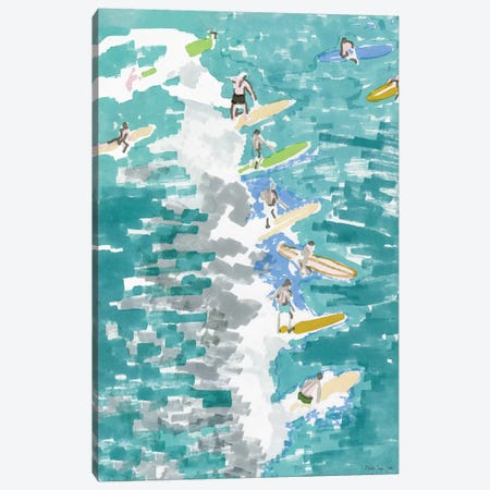 Surf's Up I 3-Piece Canvas #SLD57} by Stellar Design Studio Canvas Art Print