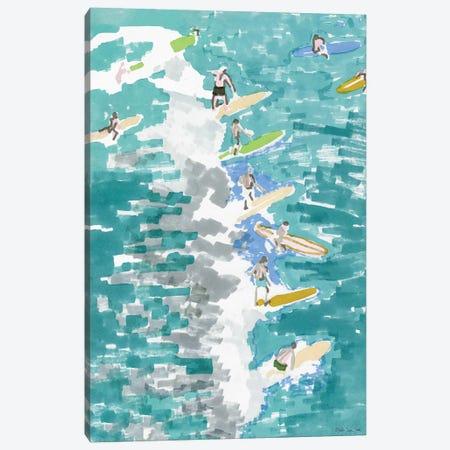 Surf's Up I Canvas Print #SLD57} by Stellar Design Studio Canvas Art Print