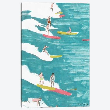 Surf's Up II Canvas Print #SLD58} by Stellar Design Studio Canvas Wall Art