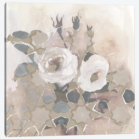Transitional Blooms I 3-Piece Canvas #SLD59} by Stellar Design Studio Canvas Wall Art