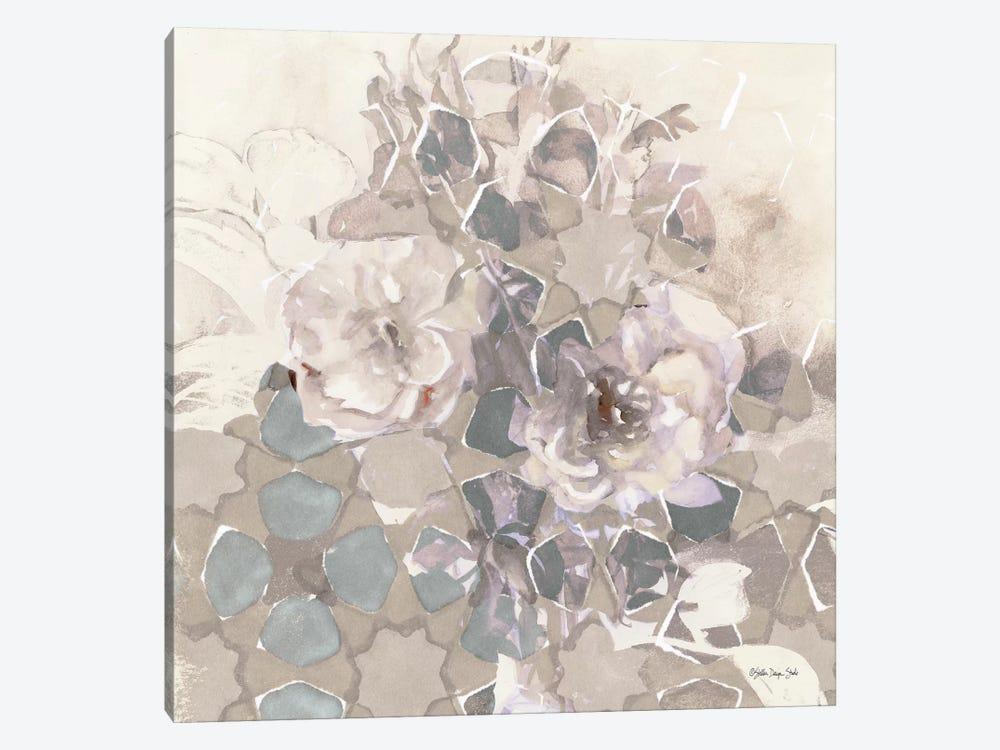 Transitional Blooms II by Stellar Design Studio 1-piece Canvas Artwork