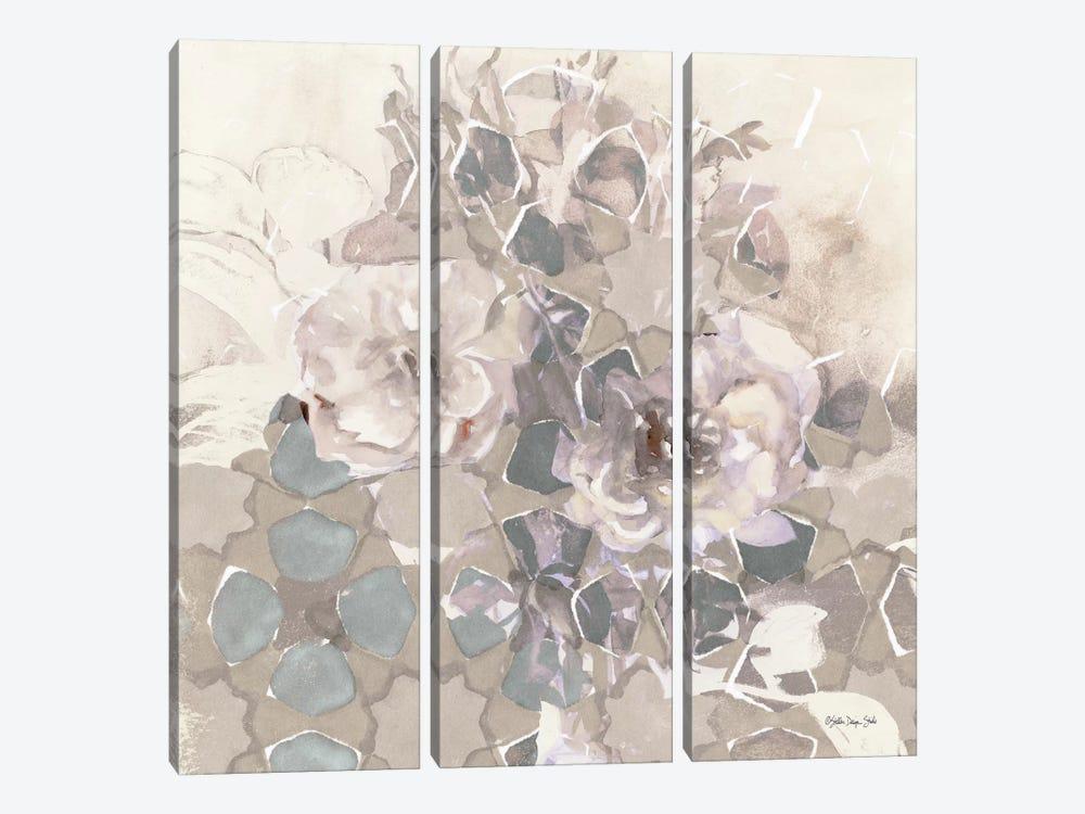 Transitional Blooms II by Stellar Design Studio 3-piece Canvas Art