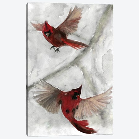Cardinals I Canvas Print #SLD6} by Stellar Design Studio Canvas Art Print