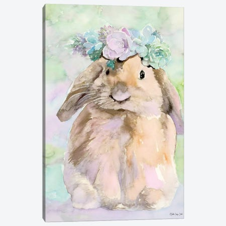 Bunny Bella Canvas Print #SLD81} by Stellar Design Studio Canvas Print