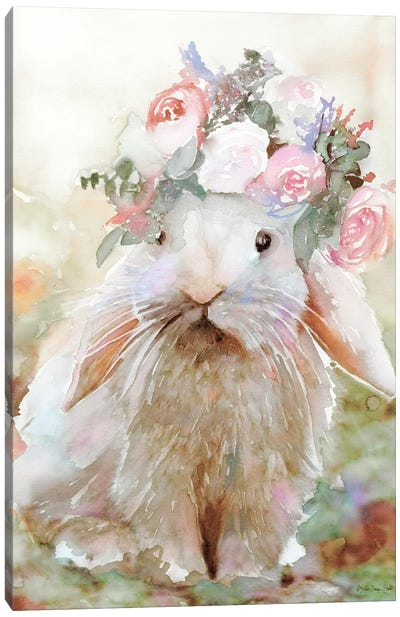 Bunny Sophia Canvas Art Print