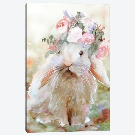 Bunny Sophia Canvas Print #SLD82} by Stellar Design Studio Canvas Art Print