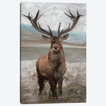 Grand Elk I Canvas Print #SLD91} by Stellar Design Studio Canvas Artwork