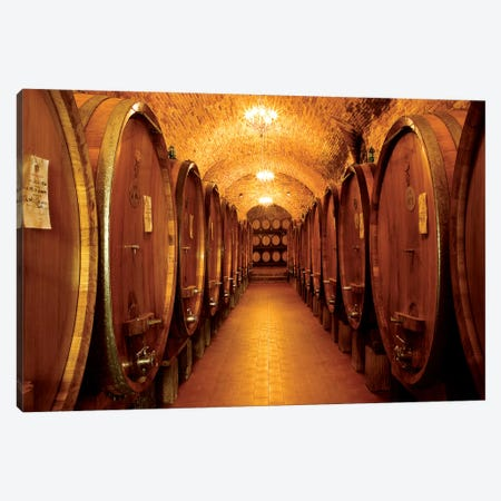 Chianti Classico Canvas Print #SLK10} by Shelley Lake Canvas Print