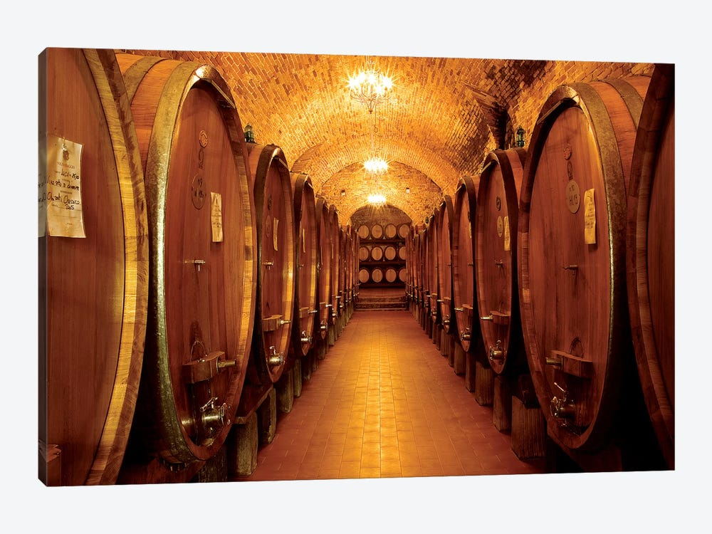 Chianti Classico by Shelley Lake 1-piece Canvas Print