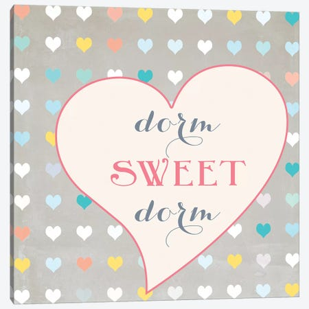Dorm Sweet Dorm Canvas Print #SLK14} by Shelley Lake Canvas Artwork
