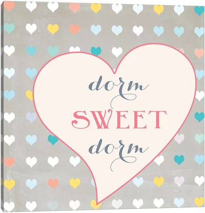 Dorm Sweet Dorm Canvas Art Print