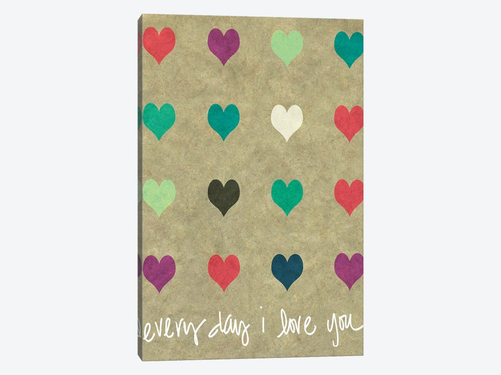 Everyday Love by Shelley Lake 1-piece Canvas Print