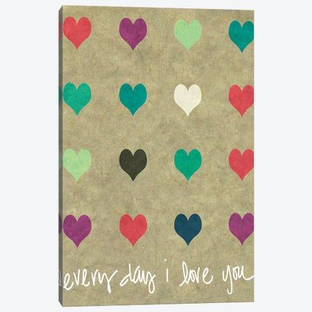 Everyday Love Canvas Print #SLK18} by Shelley Lake Canvas Art Print