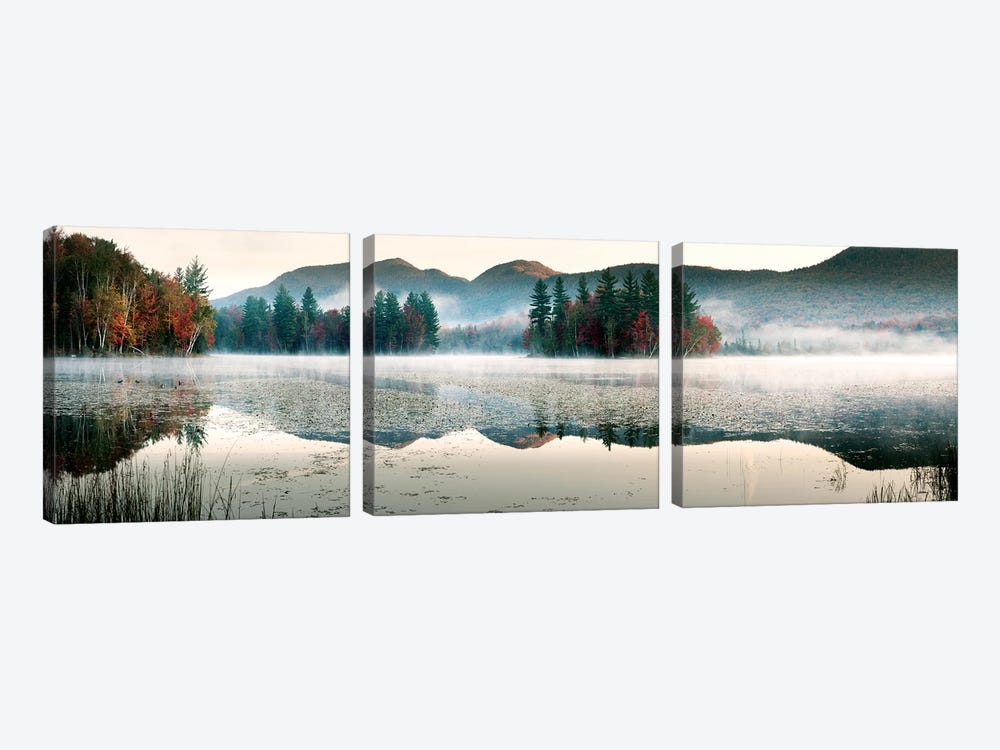 Lefferts Pond by Shelley Lake 3-piece Art Print