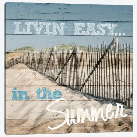 Livin' Easy Canvas Print #SLK27} by Shelley Lake Canvas Print
