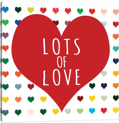 Lots of Love Canvas Art Print