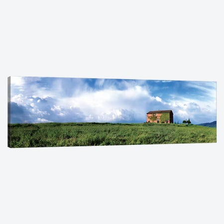 Tuscan Farmhouse Canvas Print #SLK39} by Shelley Lake Canvas Art Print
